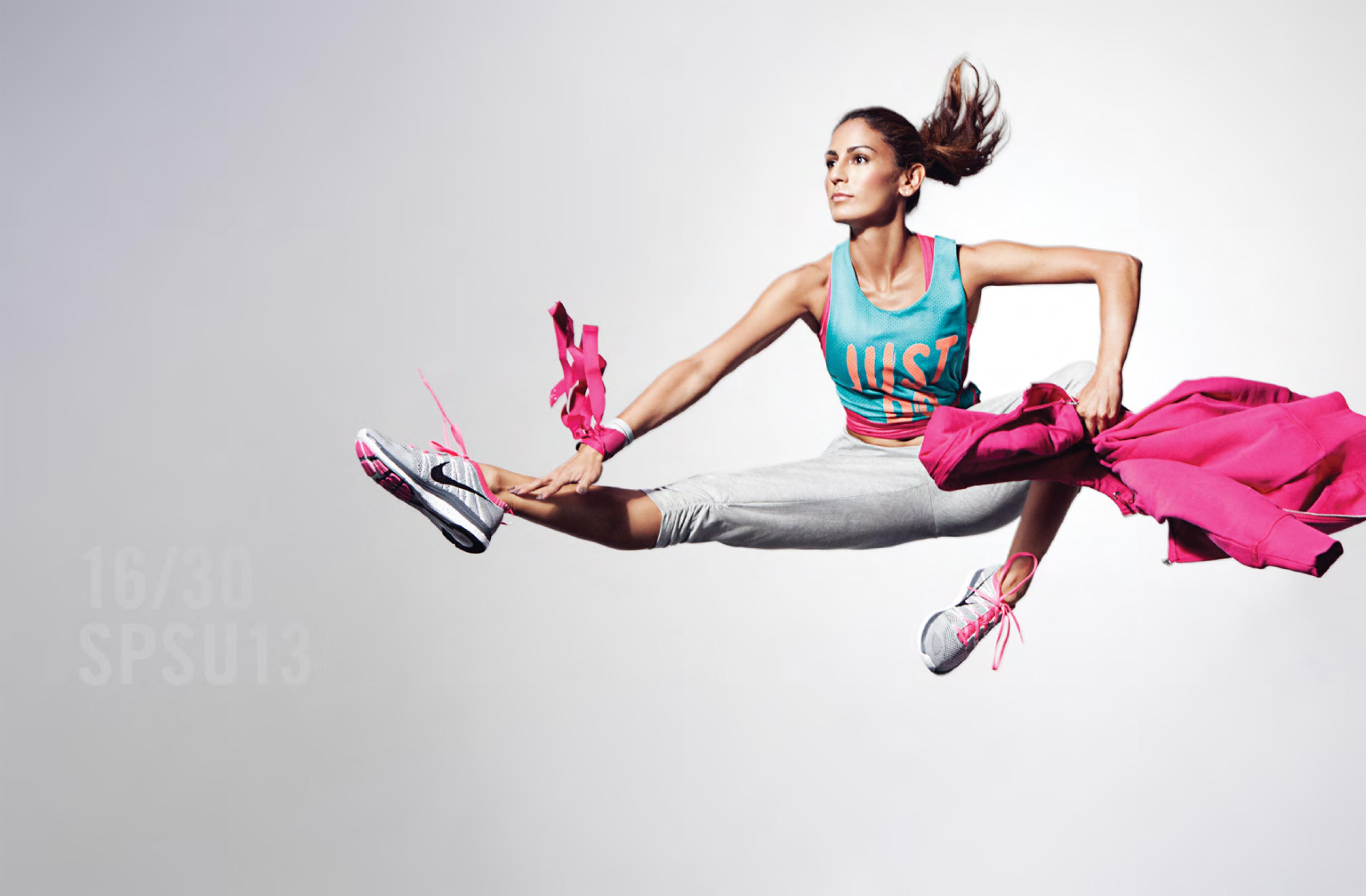 Colecci n nike women primavera verano 2013 for Deporte gym