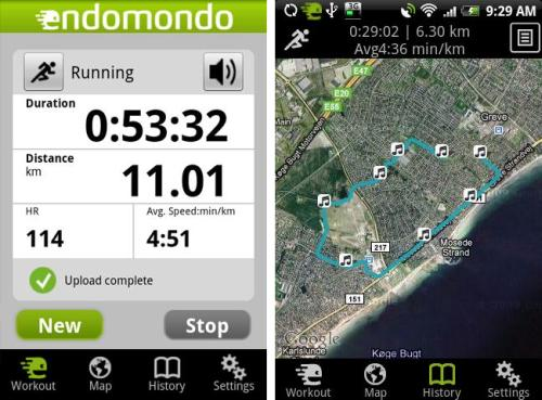 Endomondo+Sports+Tracker+PRO+Android