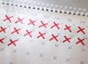 goal setting calendar