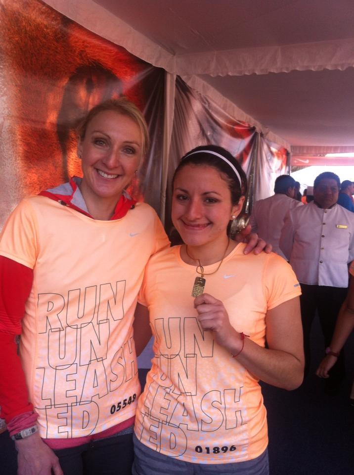 paula radcliffe nosotras corremos nike 10k 2013 mexico