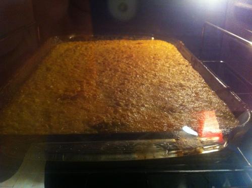 horno pan de elote