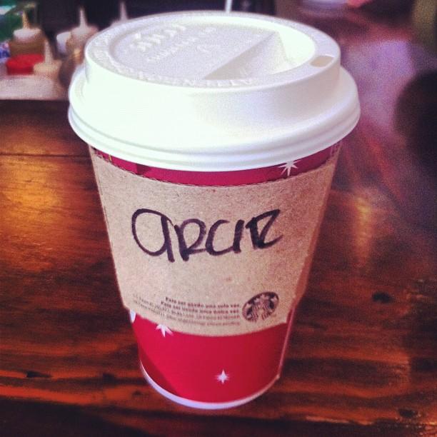 starbucks coffee red cup vasito rojo