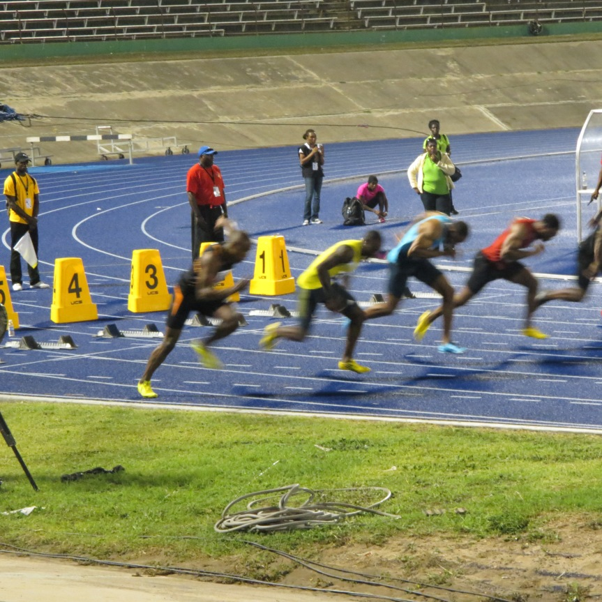 ATLETAS JAMAICA INTIVATIONAL TYSON GAY 100 METRES