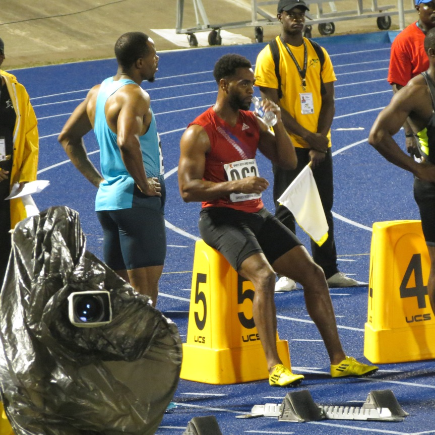 ATLETAS TYSON GAY JAMAICA INVITATIONAL