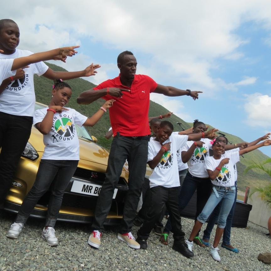 jamaica bold gtr gold kids usain