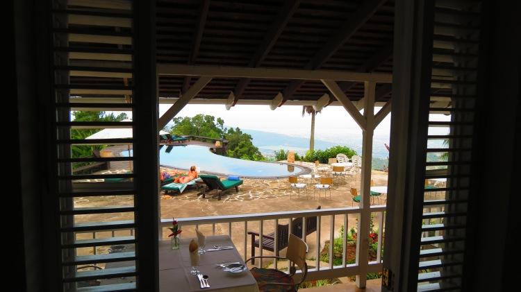 jamaica strawberry hill hotel view