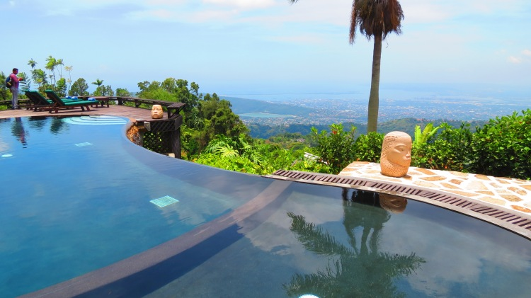 jamaica strawberry hill pool view