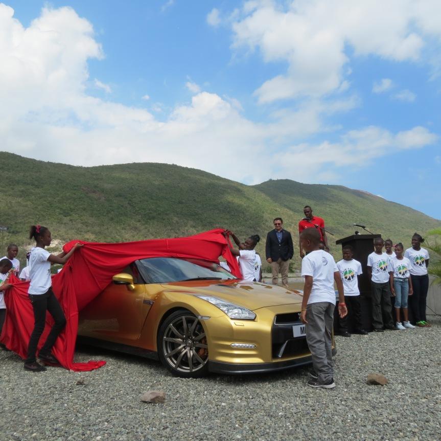 jamaica usain bolt gtr gold