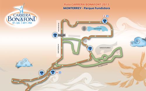 ruta carrera bonafont monterrey
