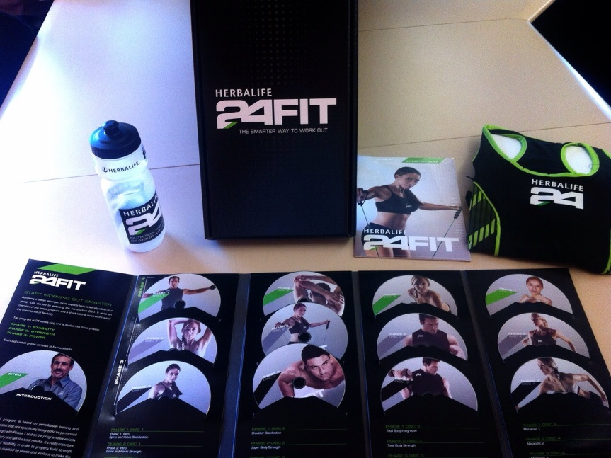 herbalife 24 fit dvd program