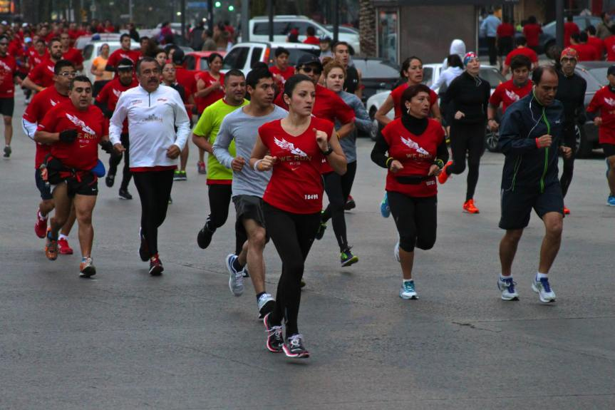 carrera nike we run mexico 2013 ruta