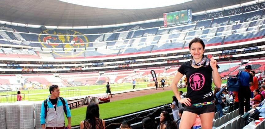 Corrí mi primera Spartan Race, en el Estadio Azteca