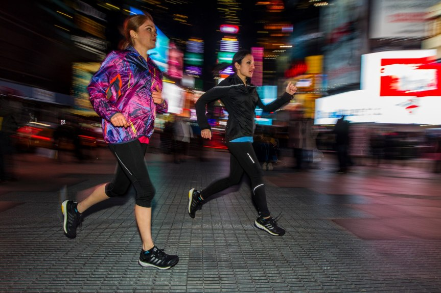 Viajé a Nueva York a la presentación de Adidas Boost y...