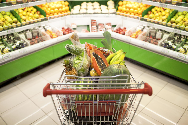 lista de compras comida saludable