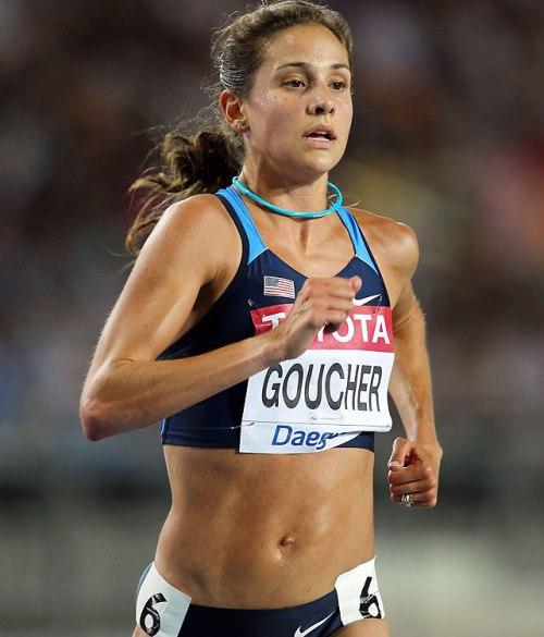Mi ídolo, Kara Goucher, mantiene niveles de grasa del 8 al 12%