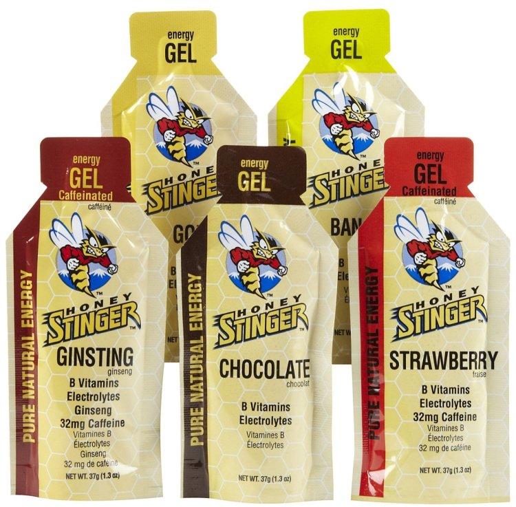 GELES HONEY STRINGER - Son miel y sabores naturales, ricos, fluídos y ligeros en el estómago. Me gustan mucho para los 21K.