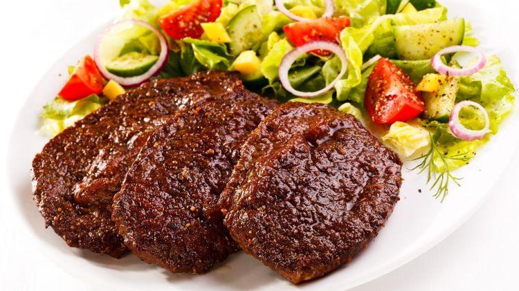 Meat-Salad-Vegetables